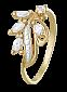 Серебряное кольцо с фианитами Тамуна 000025449