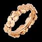 Молодежное кольцо в розовом золоте Hortensia R-Ch/Hor-R-little