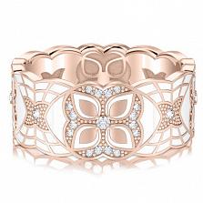 Обручальное кольцо из розового золота Калейдоскоп Любви: Увертюра к счастью
