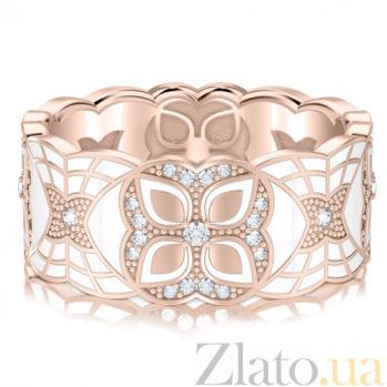 Обручальное кольцо из розового золота Калейдоскоп Любви: Увертюра к счастью 3357