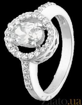 Серебряное кольцо с фианитами Корнелия 000025526