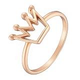 Кольцо в красном золоте Моя принцесса