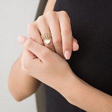 Золотое кольцо Джина в стиле Тиффани