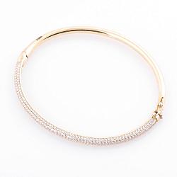 Золотой браслет Леонтия с фианитами 000064942