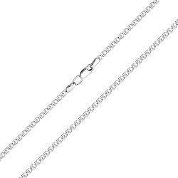Серебряная цепь в плетении лав 000118002