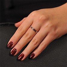 Кольцо из белого золота Дианта с бриллиантом