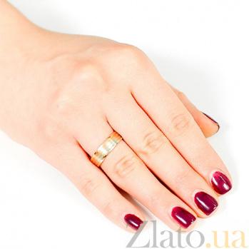 Золотое обручальное кольцо Признание в любви 000001677
