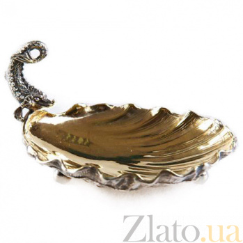 Серебряная икорница Садко 947