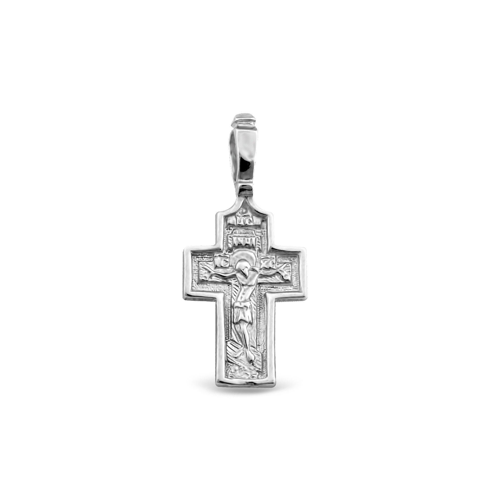 Серебряный крестик Таинство
