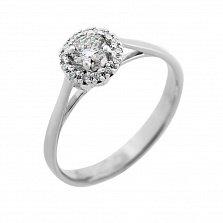 Кольцо из белого золота Ингрид с бриллиантами