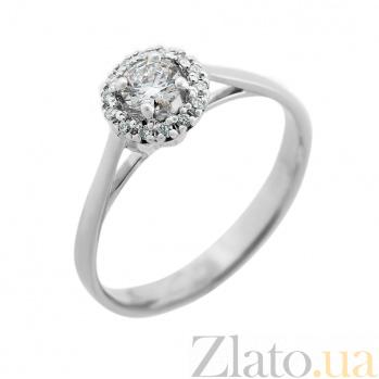 Кольцо из белого золота Ингрид с бриллиантами VLA--14689