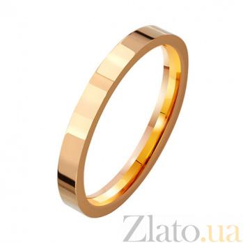 Золотое обручальное кольцо New life TRF--411421