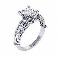 Золотое помолвочное кольцо Vita с бриллиантами