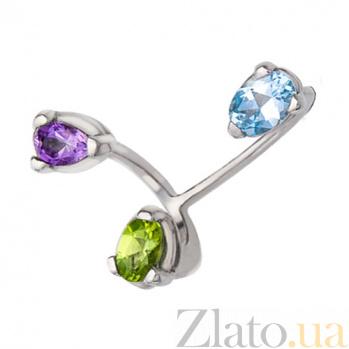 Серебряное кольцо Спектр ГГГ-ТАХ