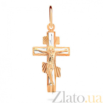 Золотой крестик Исцеление души SUF--521003н