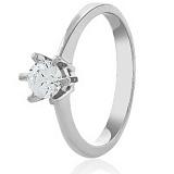 Золотое кольцо с кристаллом Swarovski Мир любви