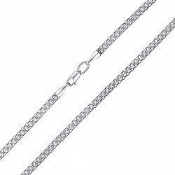 Серебряная цепочка в плетении двойной якорь, 3мм 000079032