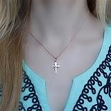 Золотой крестик Небесный покровитель