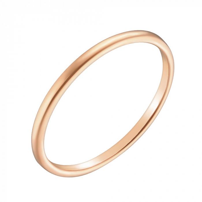 Обручальное кольцо Счастливая семья в красном золоте 000079561
