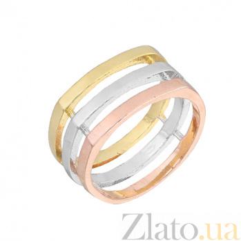Серебряное кольцо с позолотой Амалия 000028032