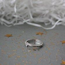 Золотое кольцо Лалида с бриллиантом