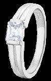 Серебряное кольцо с фианитом Кира