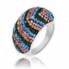 Серебряное кольцо Мальта