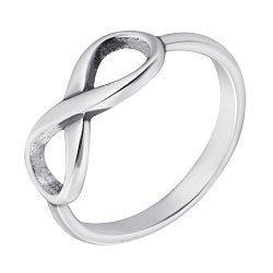 Серебряное кольцо Знак бесконечности 000070685