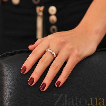 Золотое кольцо с бриллиантами Ровена EDM-КД7539