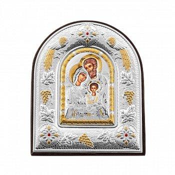 Икона Святые защитники с серебрением 000127173