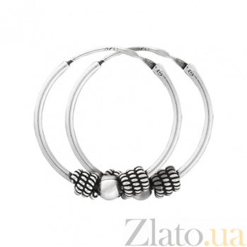Серебряные серьги Джиотсана SLX--С5/317