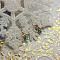 Золотые серьги с изумрудами и бриллиантами Колорадо 000030418