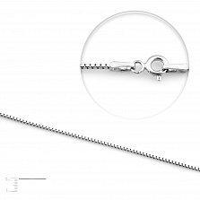 Серебряная цепь Келли, 1 мм