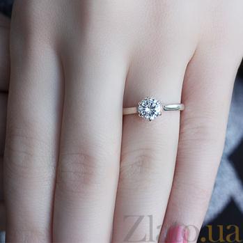 Серебряное кольцо с фианитом Болеро BGS--390к