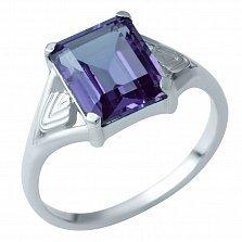 Серебряное кольцо Ракель с александритом