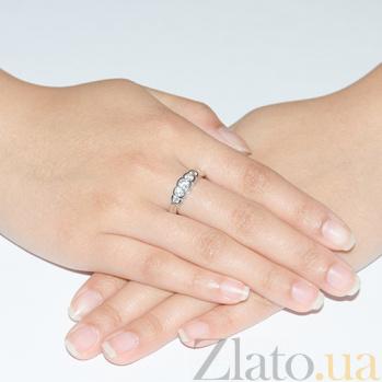 Кольцо из белого золота Виктория TRF--122289