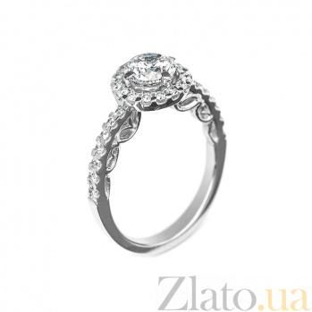 Кольцо в белом золоте Иоланта с бриллиантами 000079234