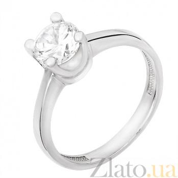 Серебряное кольцо Эстель 33190
