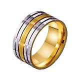 Золотое обручальное кольцо Исключительный стиль