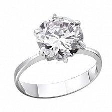 Серебряное кольцо Южные звезды с фианитом