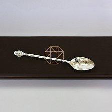 Серебряная ложка кофейная Ажур