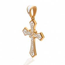 Эксклюзивный женский крестик Рожденные для счастья