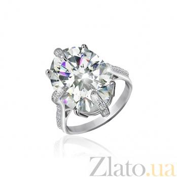 Серебряное кольцо с фианитами Ильдана 000025518