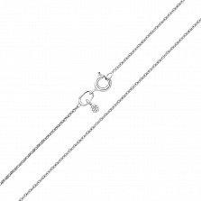 Серебряная цепочка Малазия в якорном плетении, 1 мм