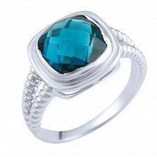 Кольцо из серебра Мэгги с топазом лондон