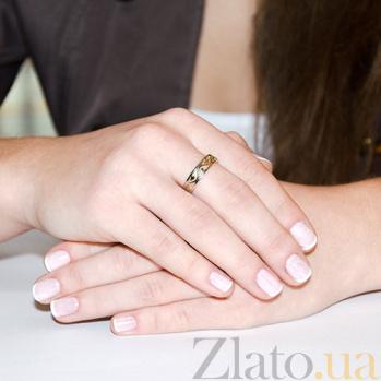 Обручальное кольцо Волшебная вязь из красного золота KBL--К1832/крас