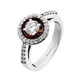 Золотое кольцо с бриллиантами Беатрис