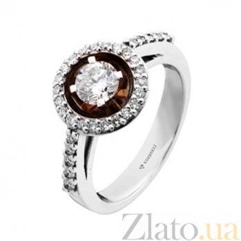 Золотое кольцо с бриллиантами Беатрис KBL--К1690/комб/брил