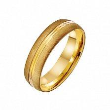 Золотое обручальное кольцо Первое свидание