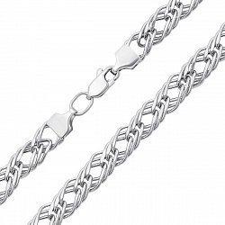 Серебряная цепь в плетении ромб, 5,5 мм 000118273